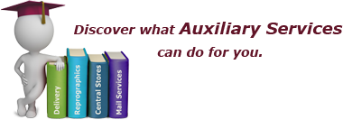 Discover what Auxiliary Services can do for you.