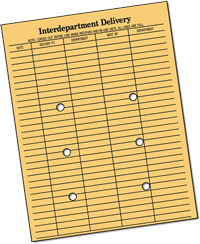interdepartmentenvelope